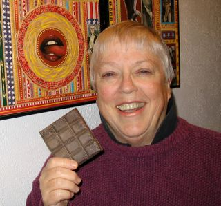 Sharon McEachern and Chocolate Bar