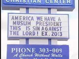 Obama sin