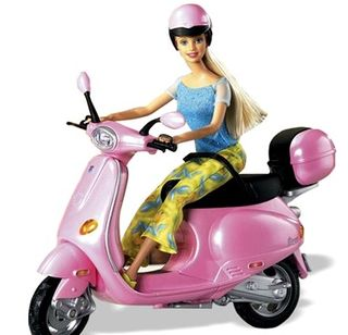 Barbie pink cycle