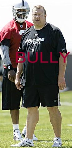 Coach tom cable - raiders