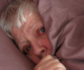 Sharon McEachern Hides in Bed