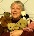 Sharon McEachern with Teddies