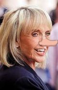Pinocchio Gov. Jan Brewer