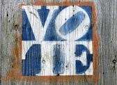 Zzzzzzz vote sign