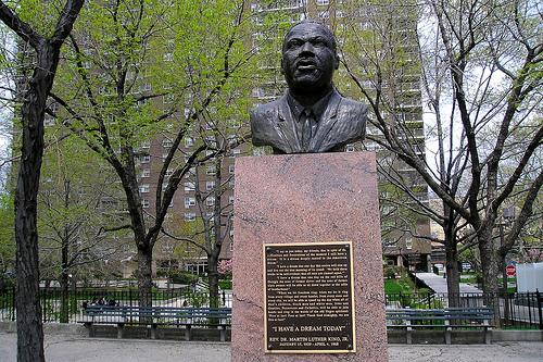 Statue 3 - MLK statue in Harlem
