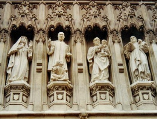 Statue 5 - MLK Westminster_Abbey_C20th_martyrs