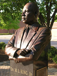 Statue 11 --MLK in Hopewell, Virginia