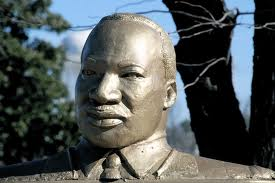 MLK STATUE IN GREENSBORO, N.C.