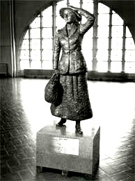 Annie Moore at Ellis Island