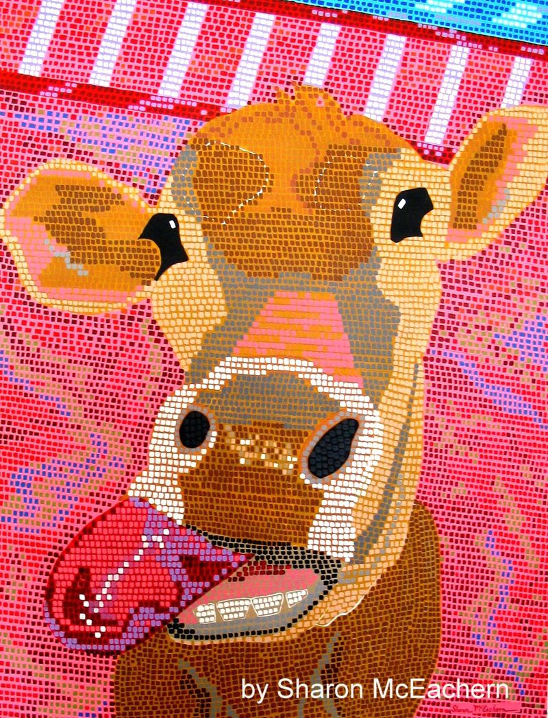 'Moo' Copyright by Sharon McEachern