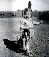 A - vintage indian costume