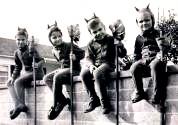A - vintage halloween gg
