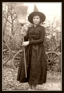 Vintage Witch Costume