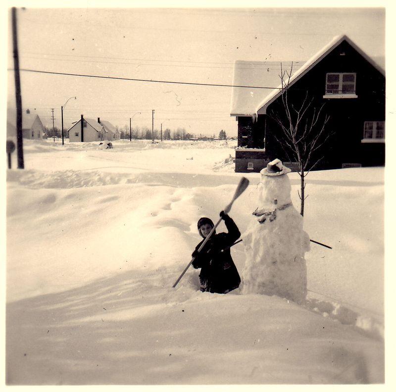1955 snowman