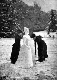 Snow lady 1900