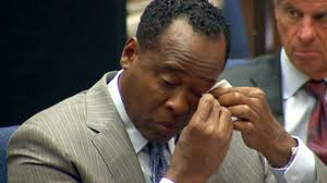 E - conrad murray cries